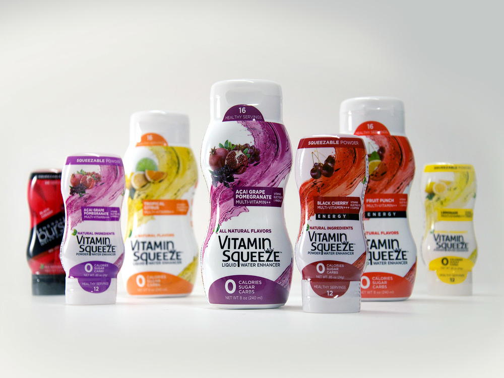 Vitamin Squeeze Packaging Creative Direction: Jason Smith Art Direction: Katie Blaker