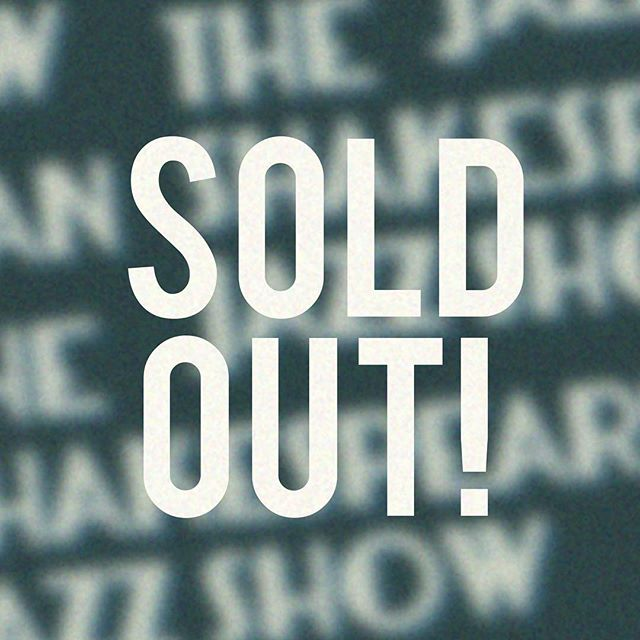 All comedy comes with tragedy 🎭 we are sold out for this evening's performance! But if you were planning on swinging by and buying at the door, we can still waitlist you in case of open seats! ✨🎺