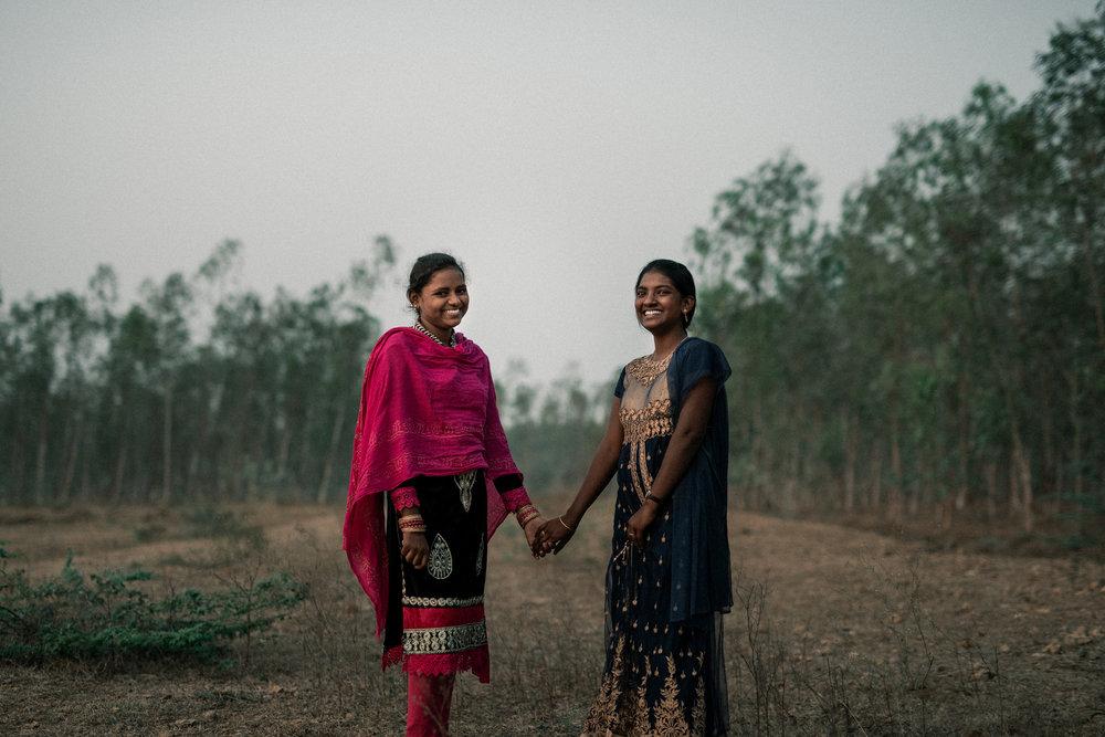 Lakshmi, 15 and Manisha, 18