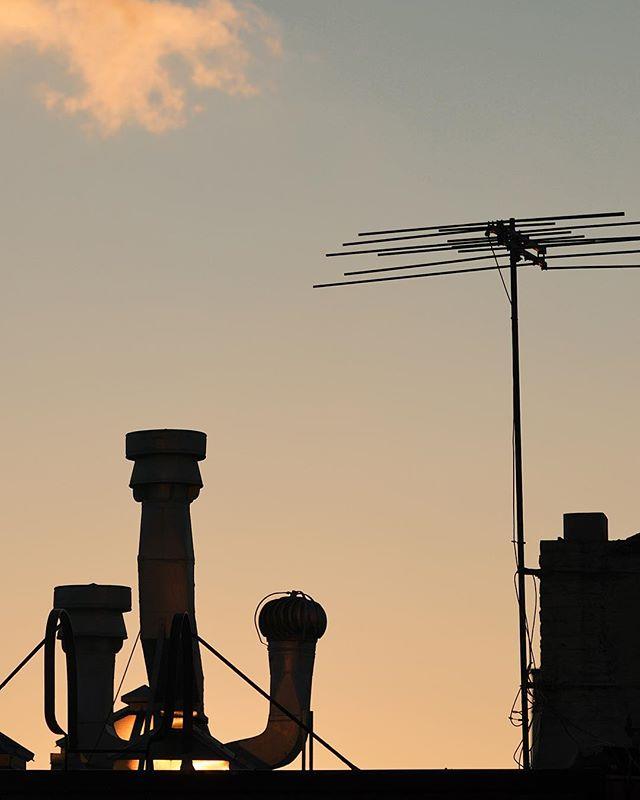 #brookyln #williamsburg #rooftop #sunset #vsco #vscocam