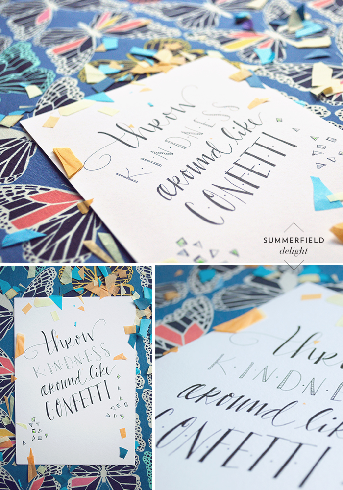 PRINT by LETTERS BY RITA