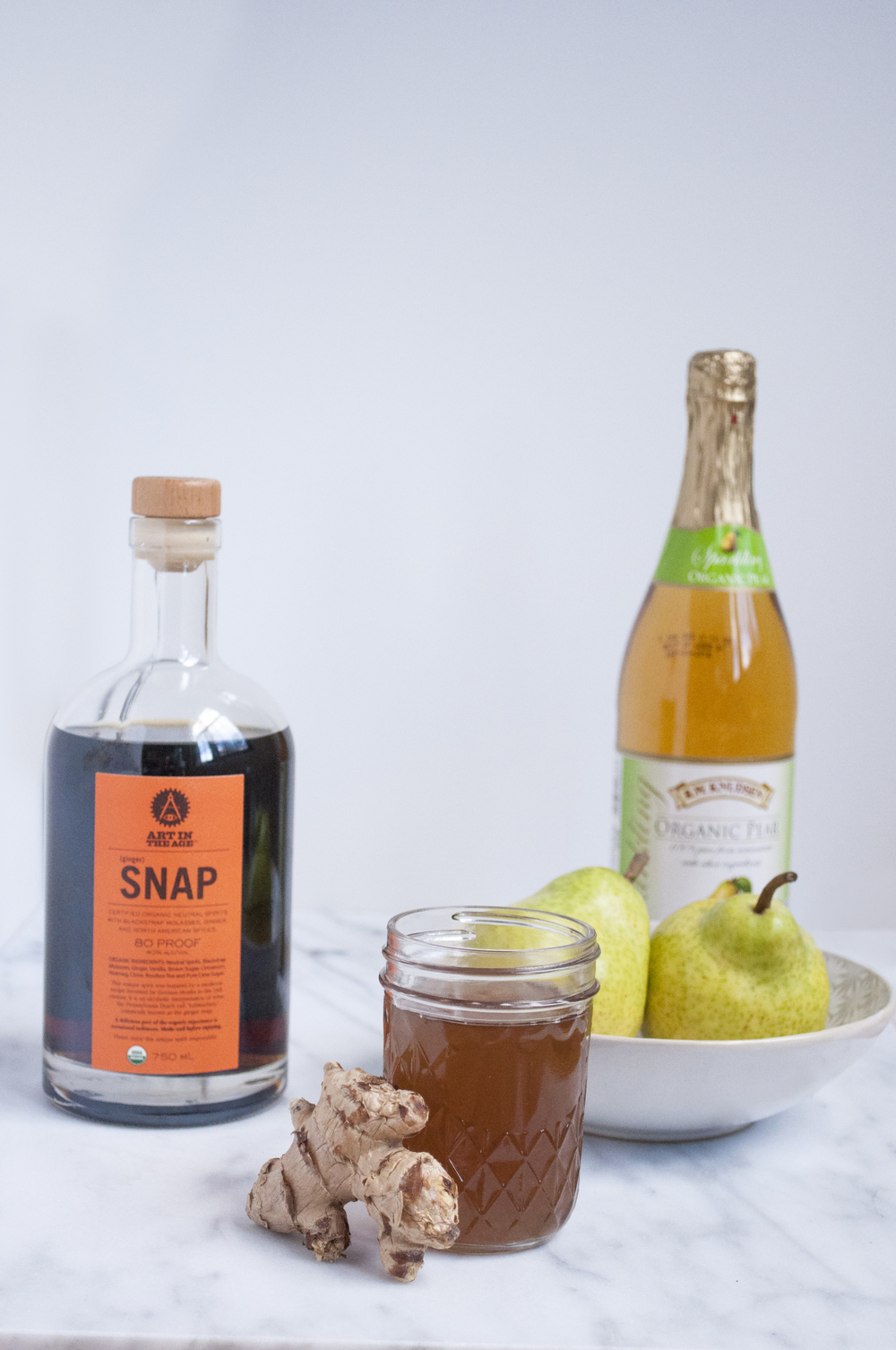 Summerfield Delight | Snappy Pear Cider Cocktail