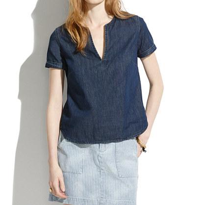 madewell denim shirt