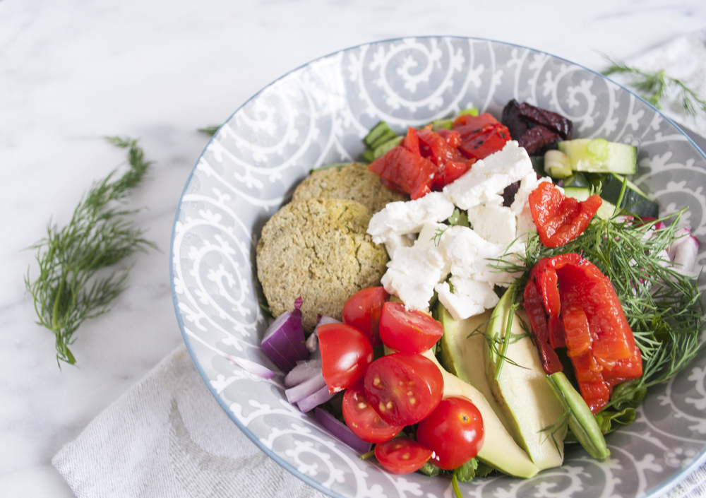 Summerfield Delight | Garden Falafel Salad Bowl