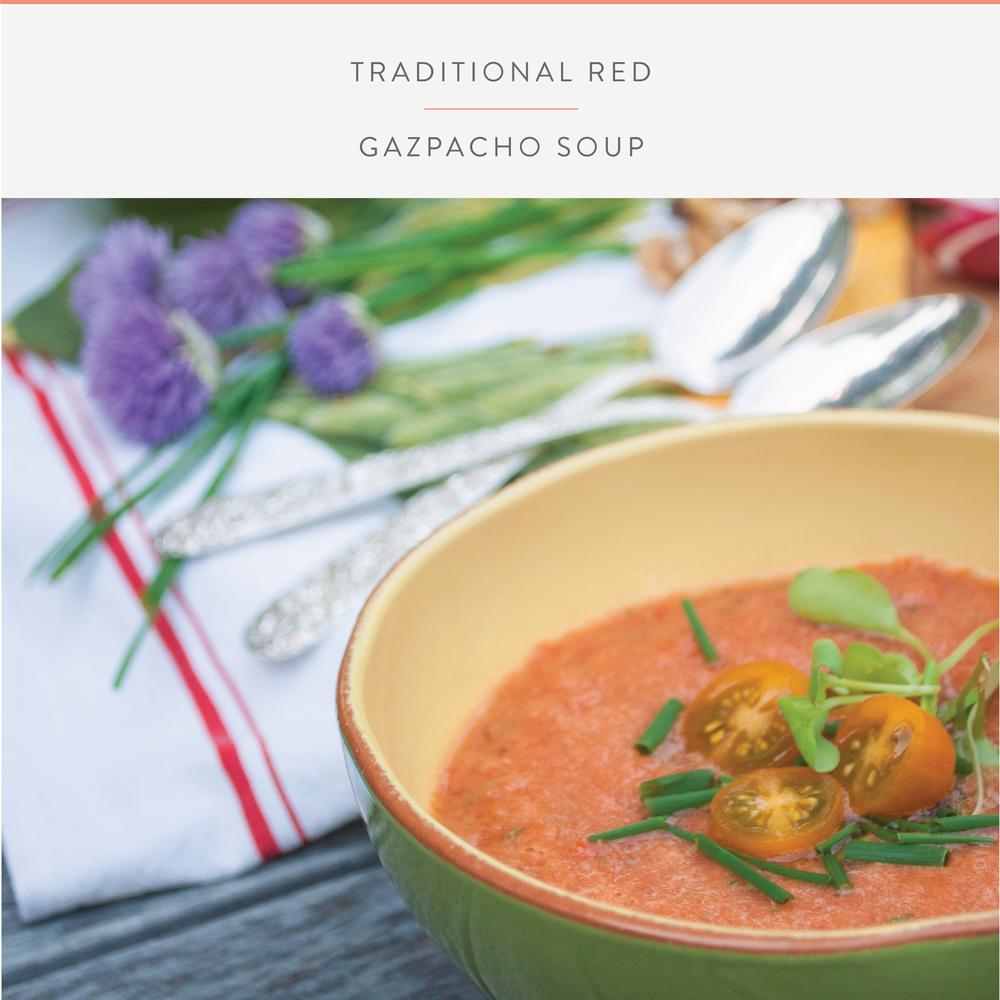 Summerfield Delight | Traditional Gazpacho Soup