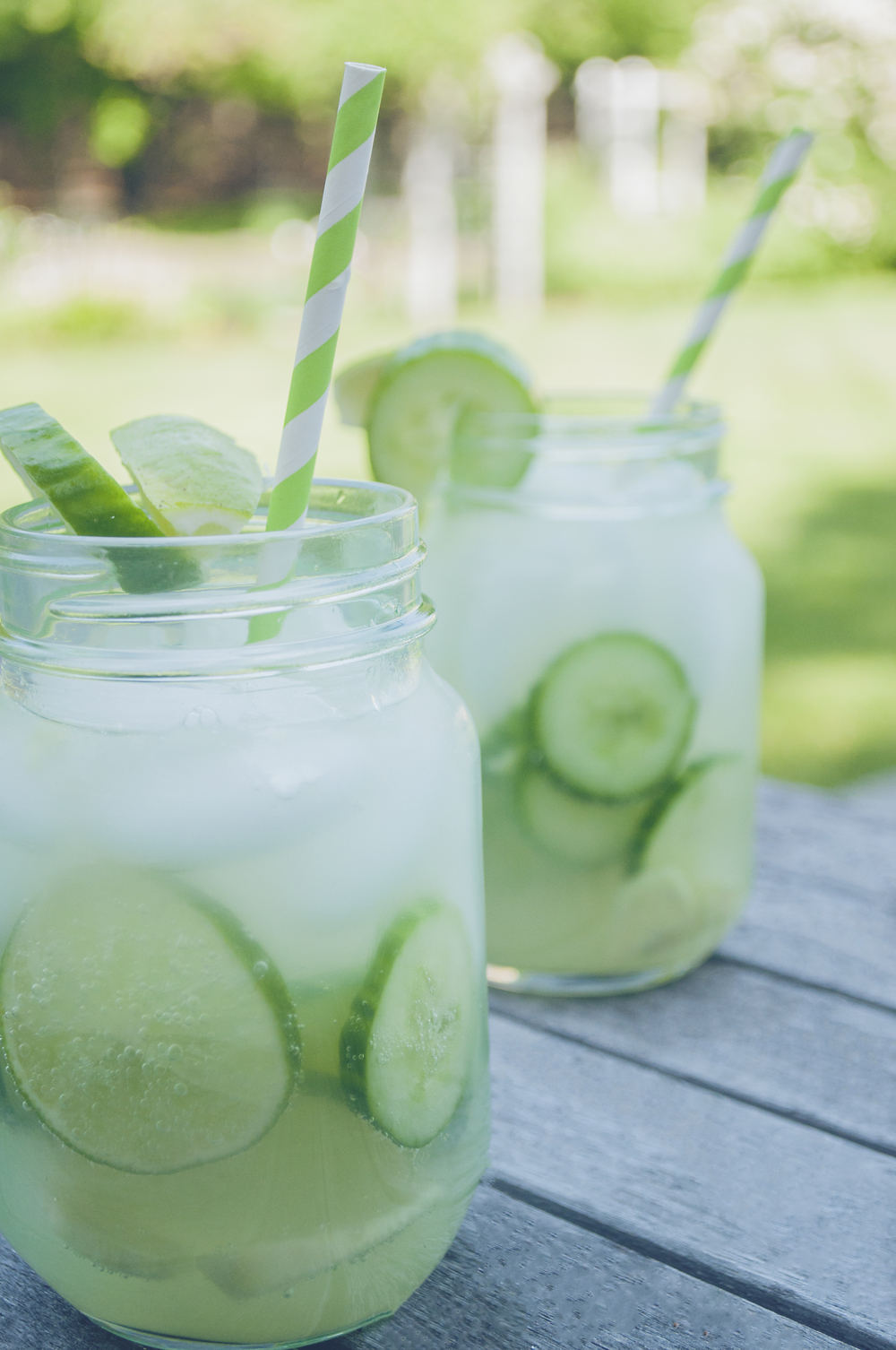 Summerfield Delight | Ginger Cucumber Mocktail Mojito