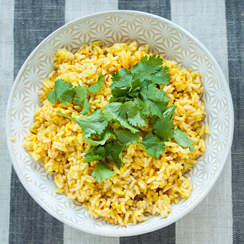 Summerfield Delight | Saffron Rice