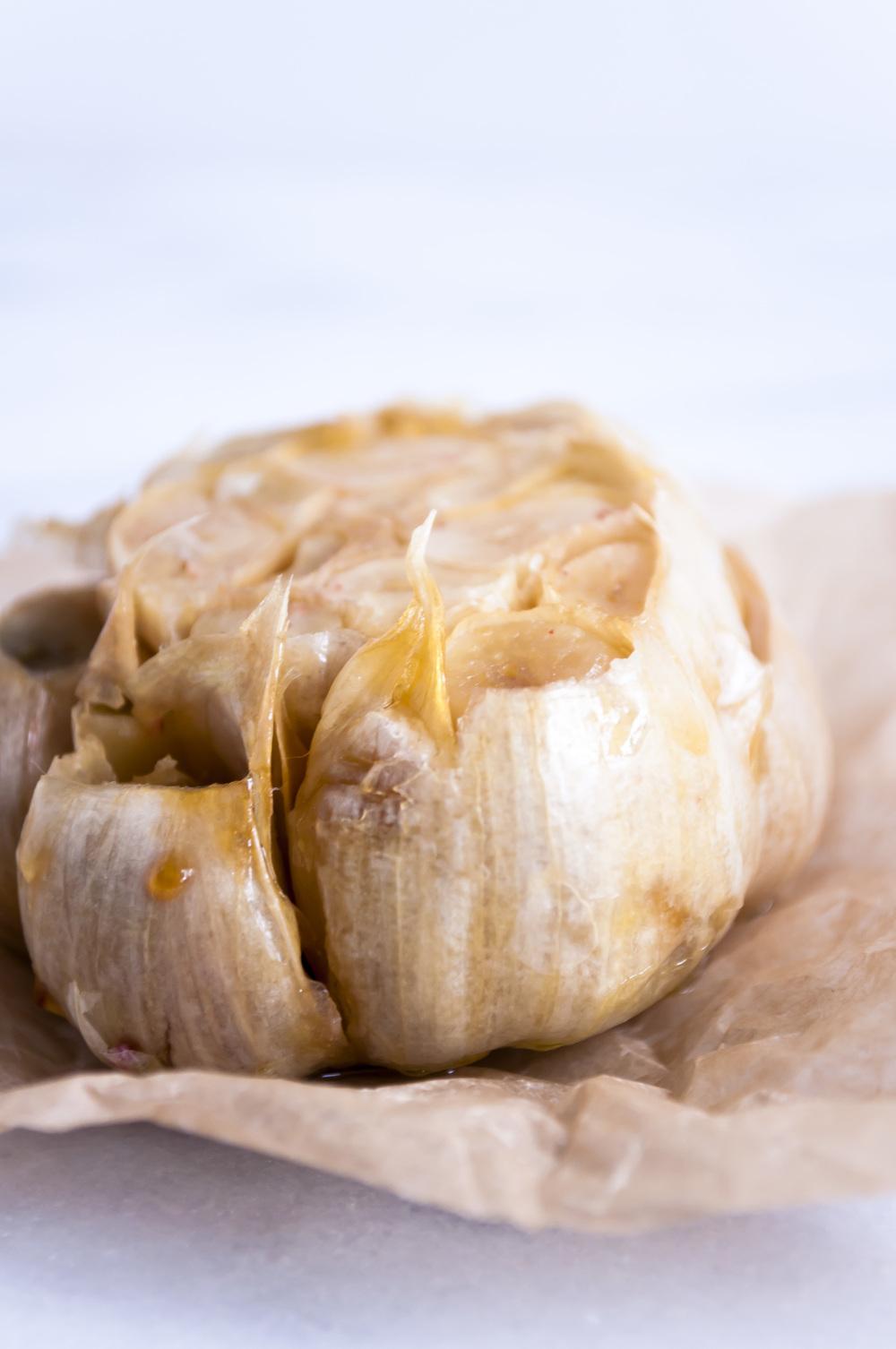 Roasted Whole Garlic