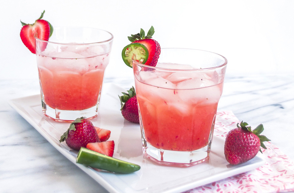 spicy strawberry daquiri
