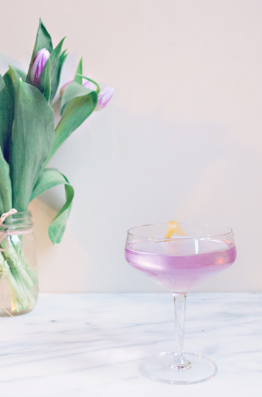 Summerfield Delight | Flirting with Spring Gin Cocktail
