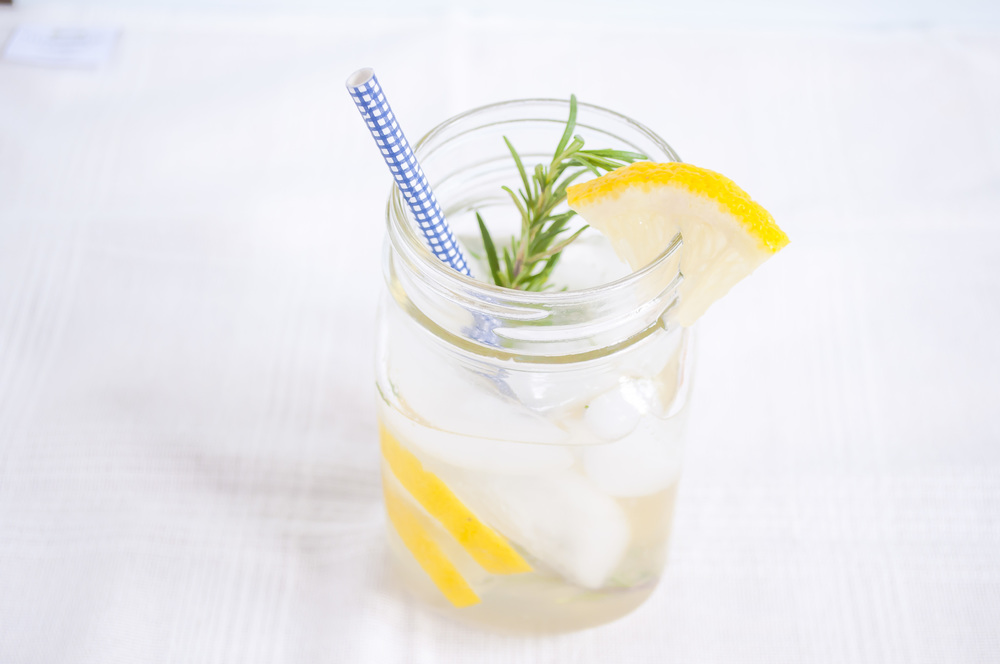BITTER LEMON AND ROSEMARY GIN AND TONIC