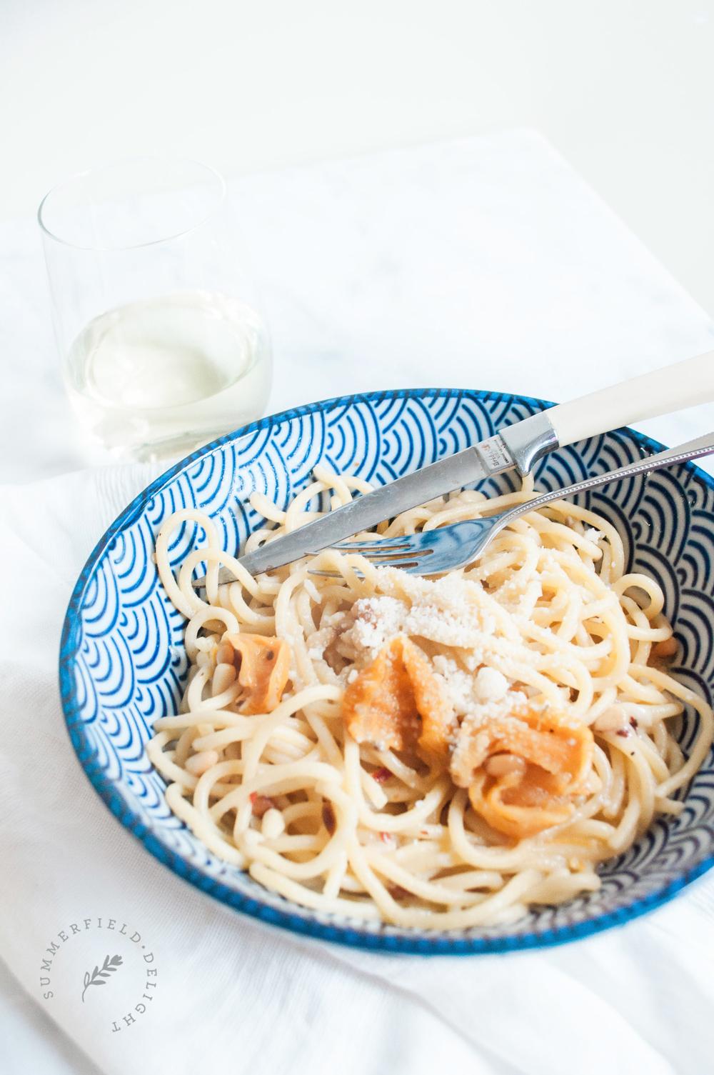Simple Parmasean Pasta