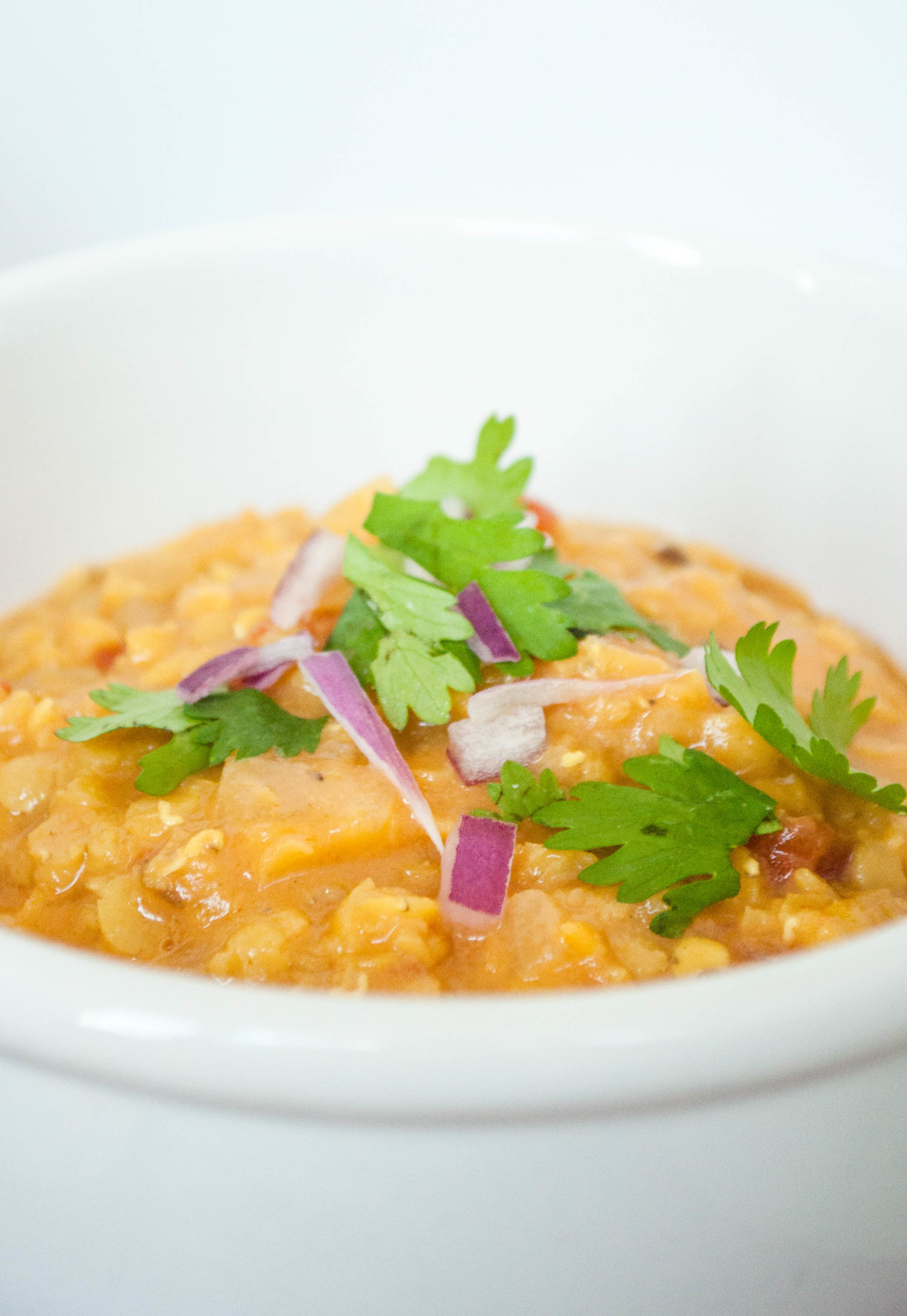Red Lentil Daal with Coconut Milk