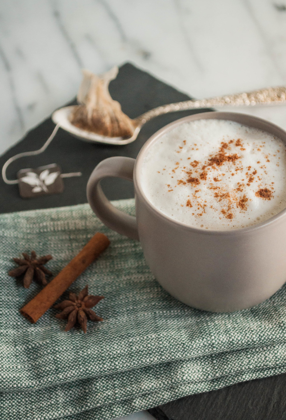 Apple Cider Chai Latte