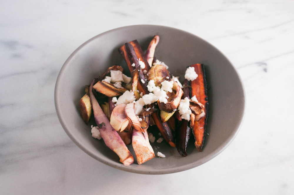 Summerfield Delight | Roasted Carrots with Parsnip and Thyme