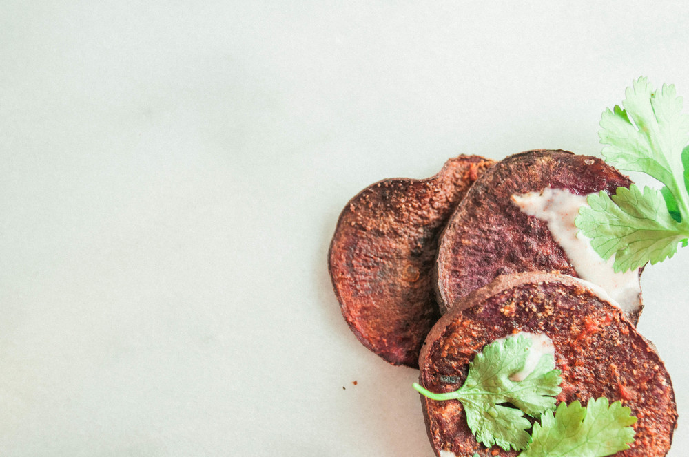 Summerfield Delight | Baked Buffalo Purple Sweet Potato Chips