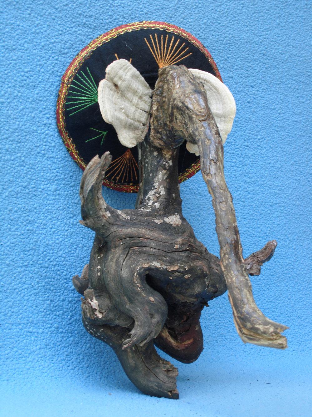 "Elephant, Third Margarita,10"", sticks, mushrooms"
