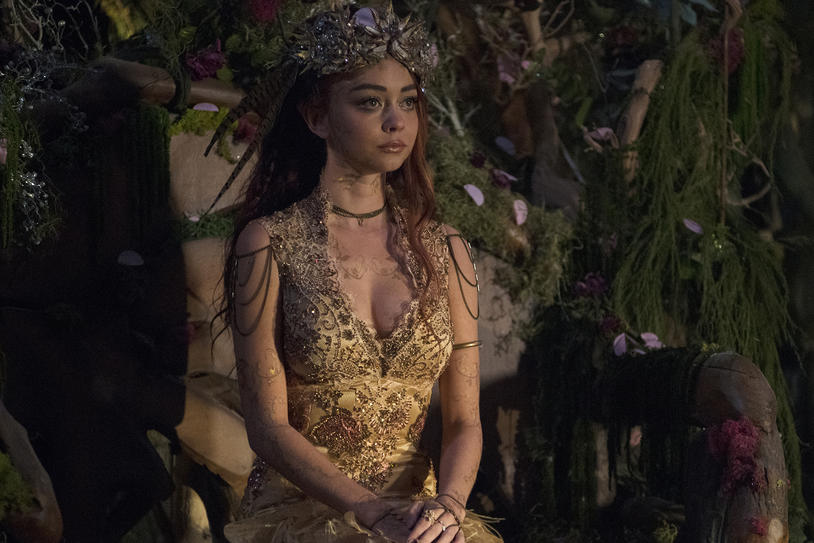 Dolorous Jewelry on Sarah Hyland Shadow Hunters Season 2 Bodychains.jpg