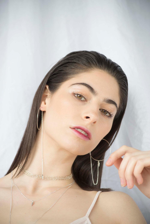 Dolorous Jewelry SS18 Lookbook Silver Necklace Hoop Statement Earrings 12.jpg