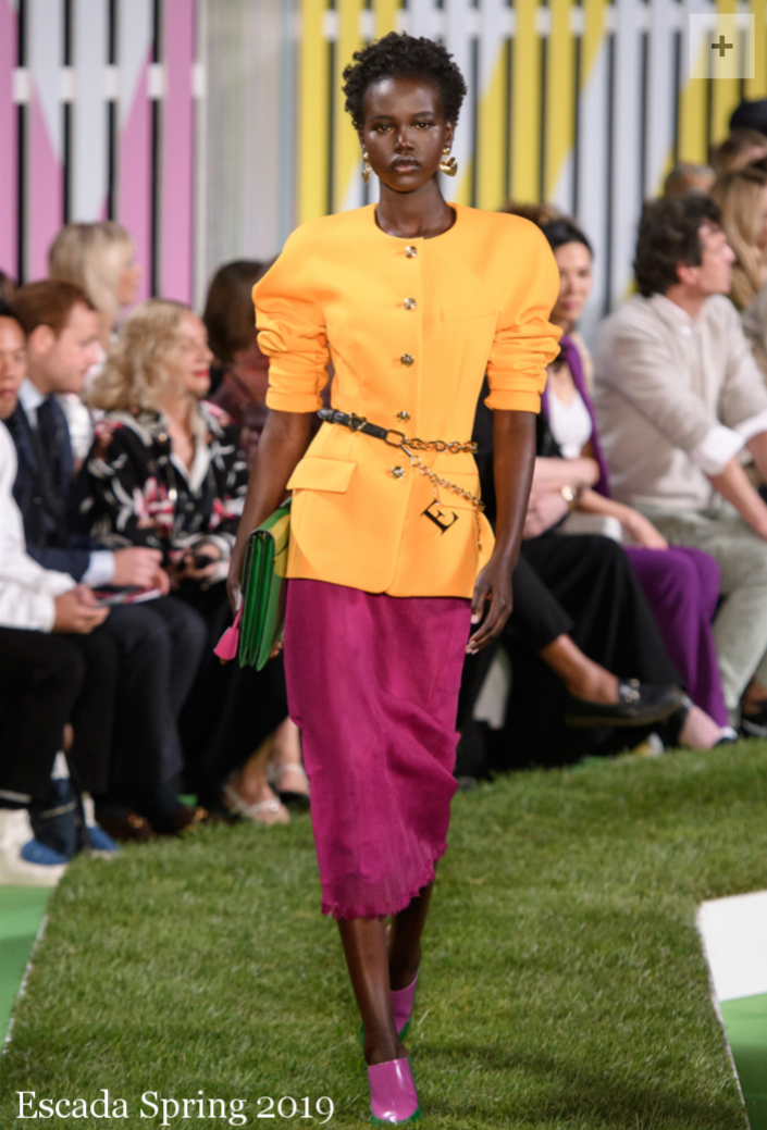 Escada Spring 2019 NYFW Chain Belt