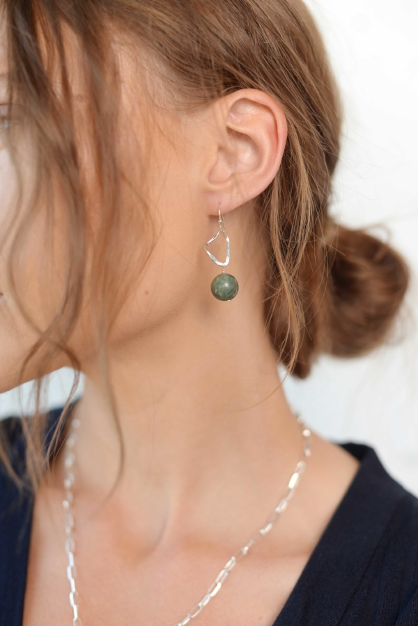 Dolorous Jewelry Jade Crystal Asymmetrical Earrings.jpg
