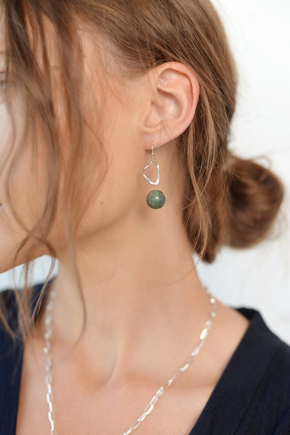 Uma Jade Drop Earrings