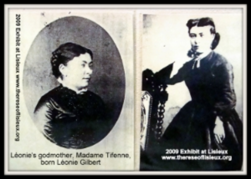 Leonie gilbert, later mme jacques tifenne, godmother of leonie martin