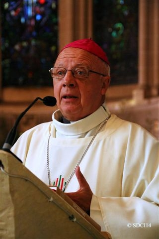 JEAN-CLAUDE BOULANGER, BISHOP OF THE DIOCESE OF BAYEUX AND LISIEUX.  Photo credit: Diocese of Bayeux and Lisieux.