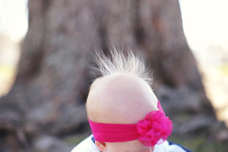 Baby's hair | Maine Wedding and Portrait Photographer