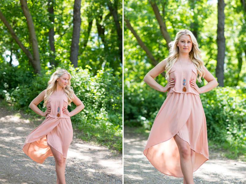 peach-high-low-dress-boutique-minneapolis