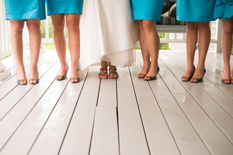 multicolored-bridesmaid-shoes