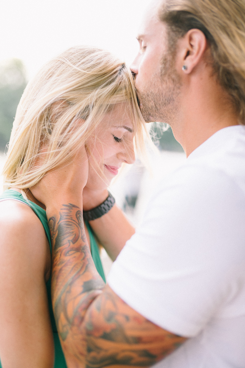 tattoo engagement photos