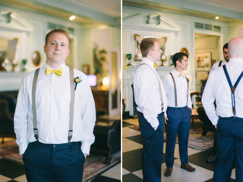 groomsmen in Lowell Inn Stillwater Minnesota