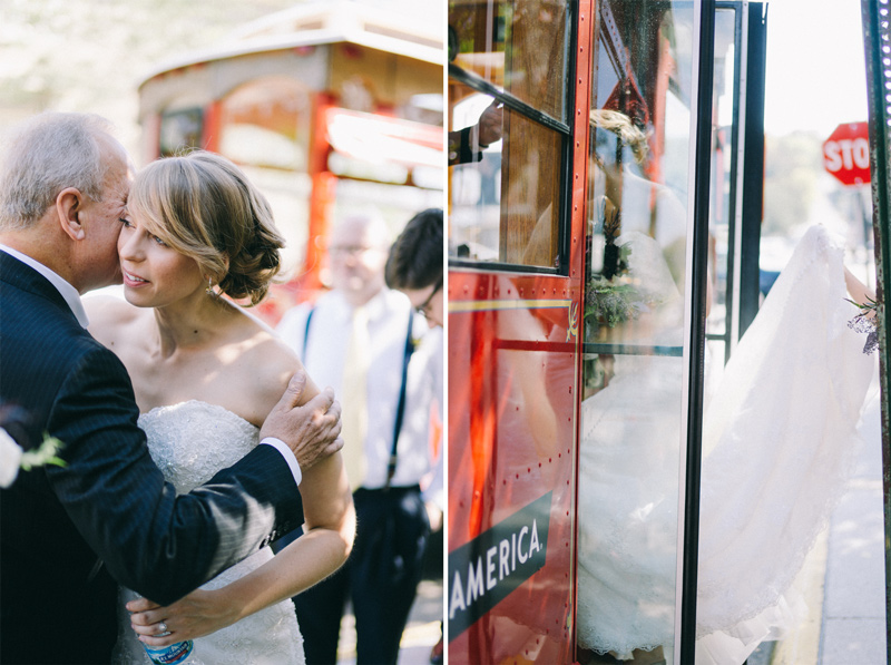 Stillwater Trolley wedding