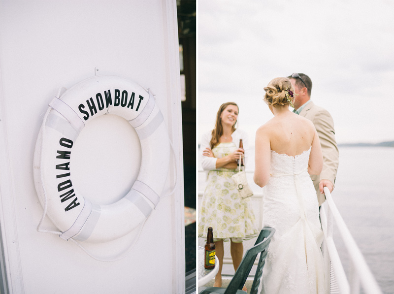 Andiamo Showboat wedding