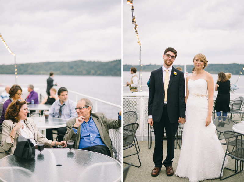 Stillwater Minnesota River boat wedding