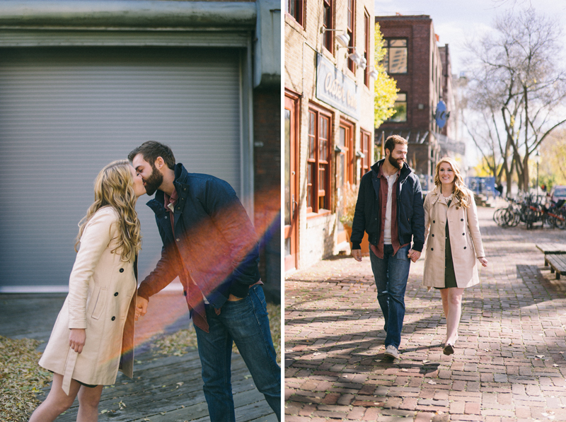 fall urban minneapolis engagement
