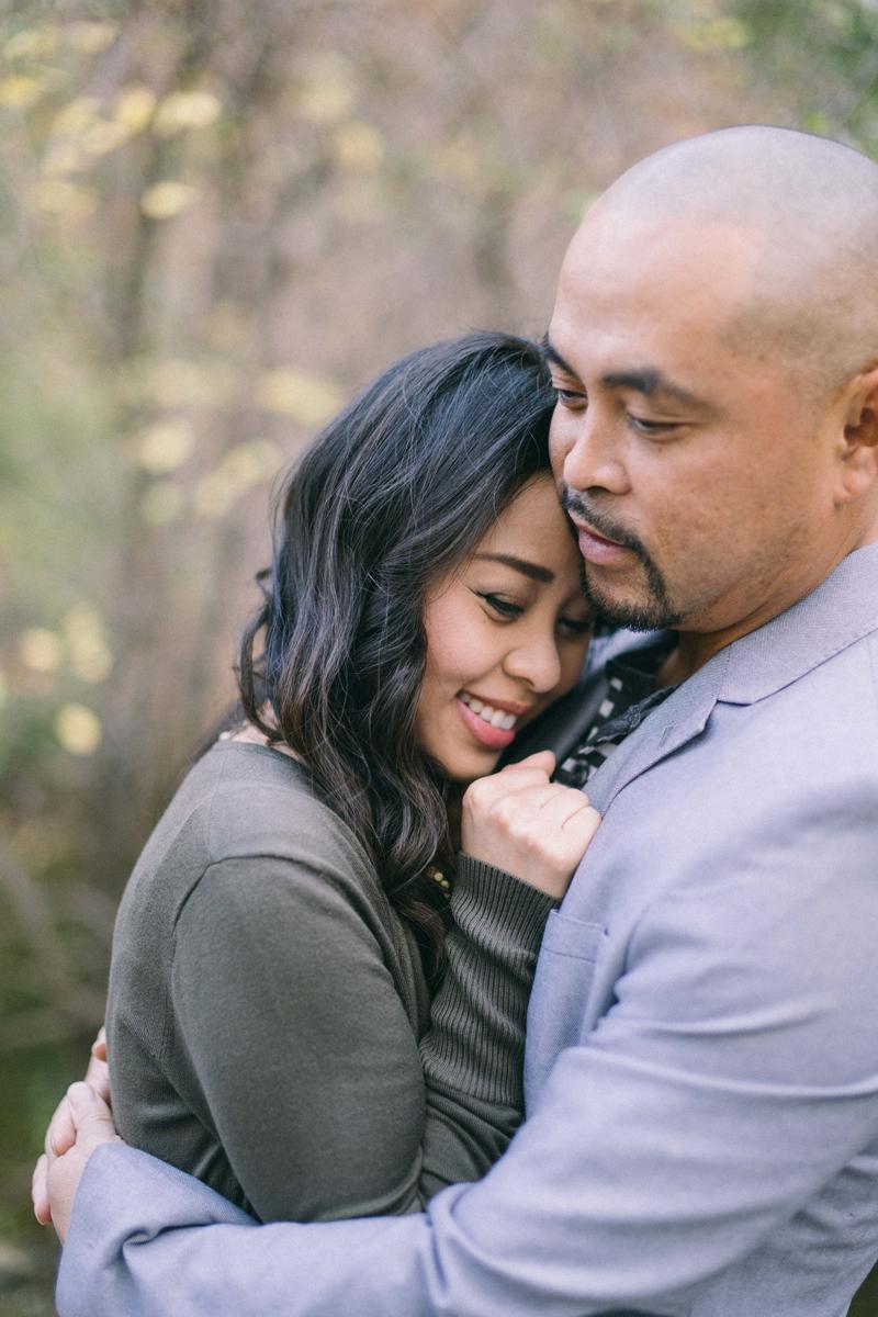 romantic engagement photos in Minneapolis