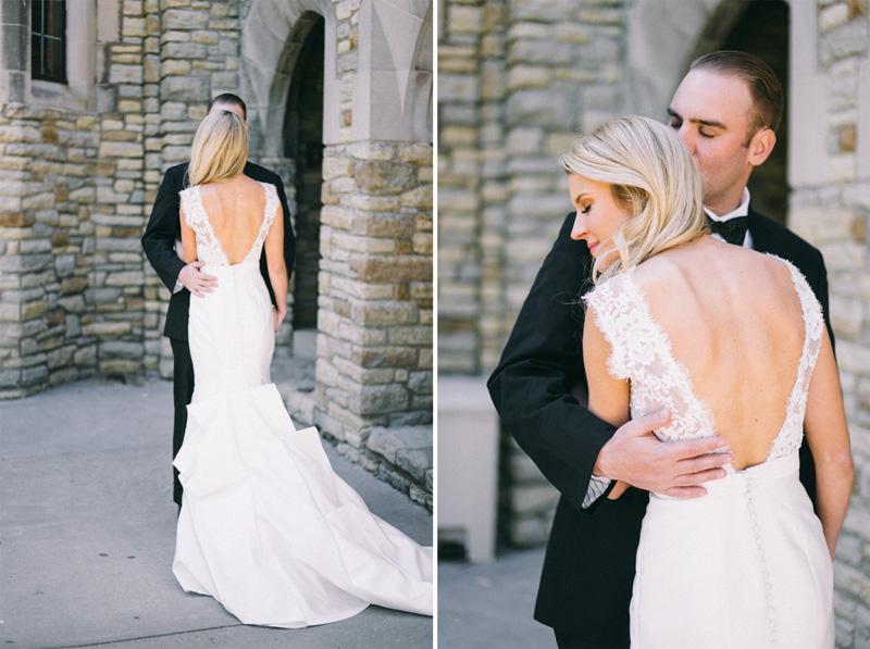 Wedding by Lake of the Isles Minneapolis Minnesota