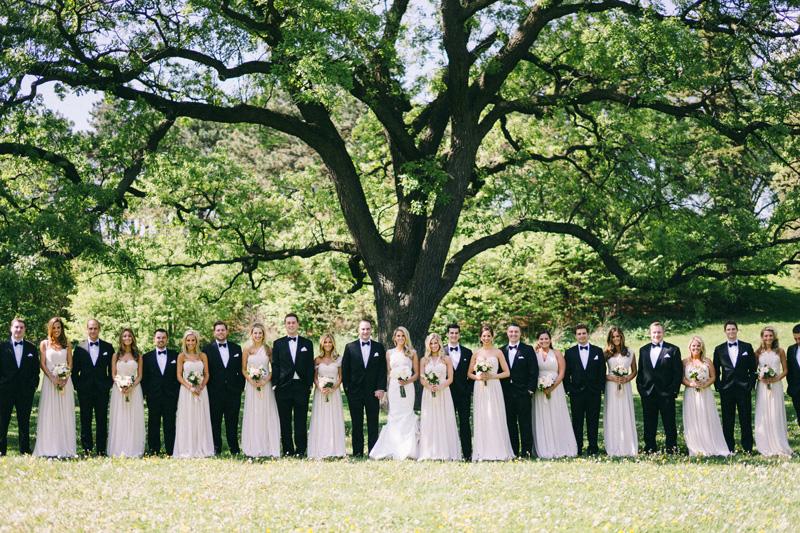 Wedding Party photos by Lake of the Isles Minneapolis Minnesota