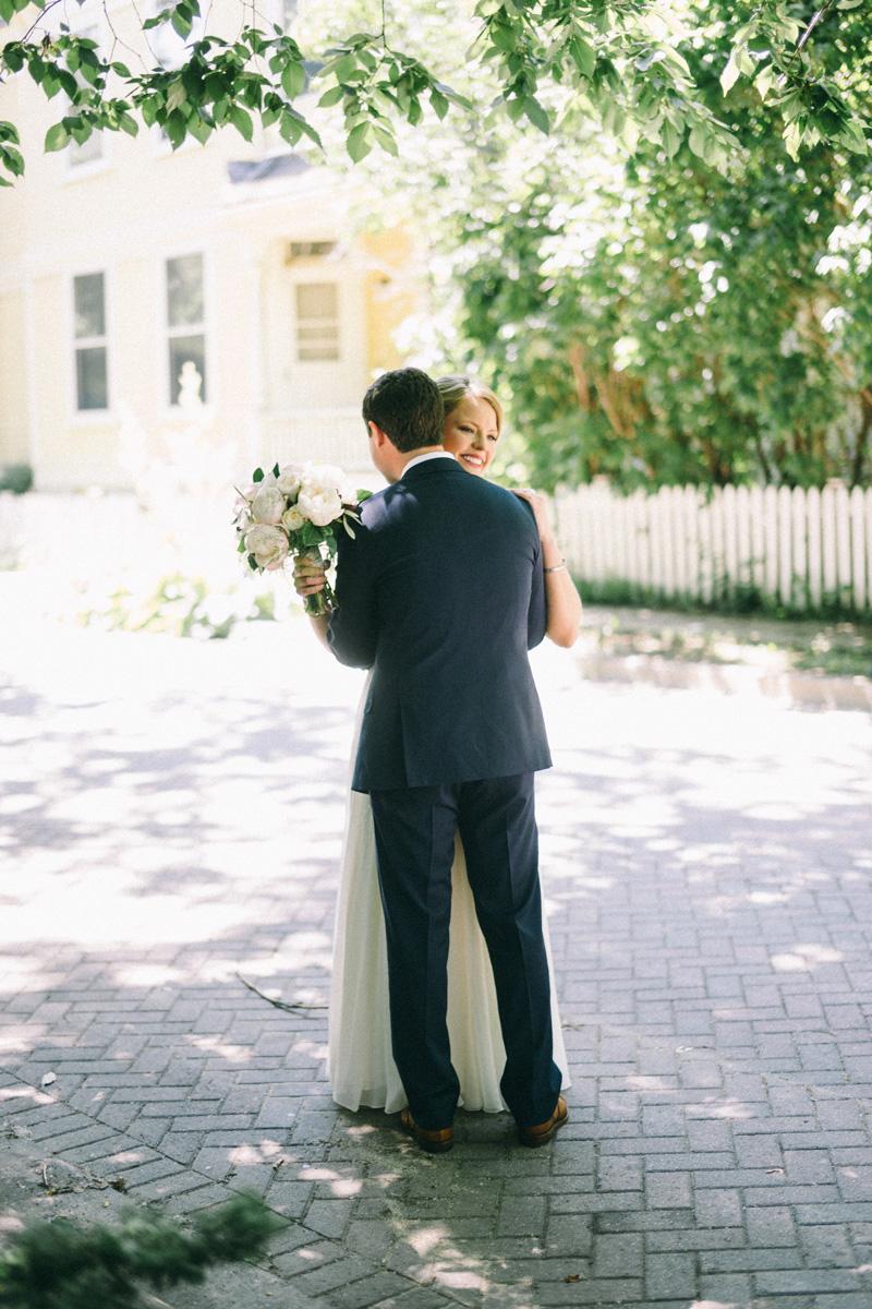 first look at American Swedish Institute wedding Minneapolis