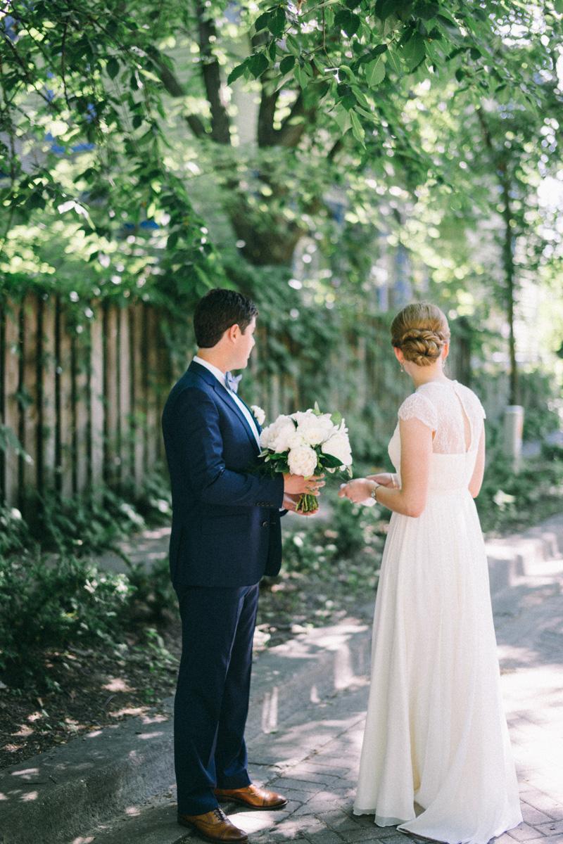 first look American Swedish Institute wedding Minneapolis