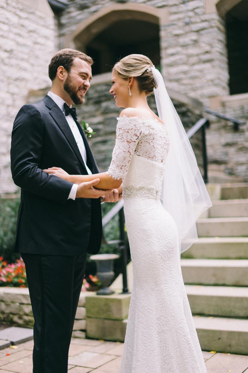 First Look Minneapolis Fine Art Wedding Photographer