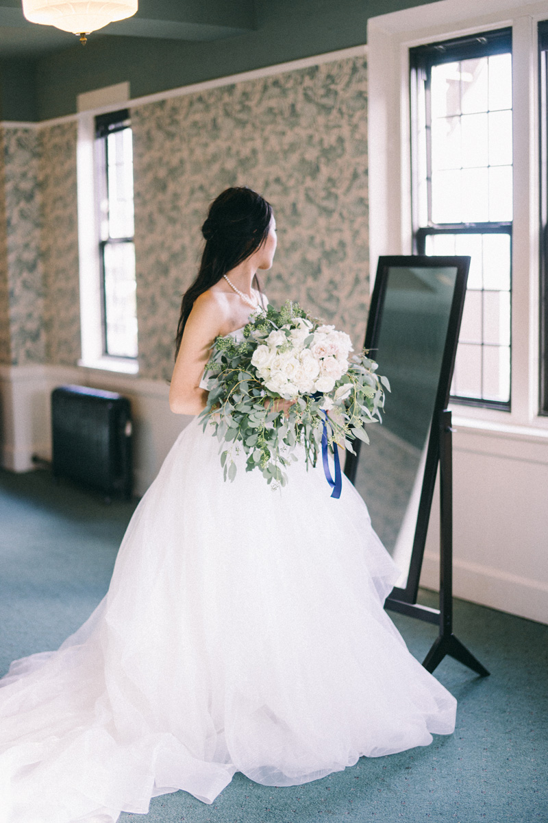 St Paul Athletic Club winter wedding