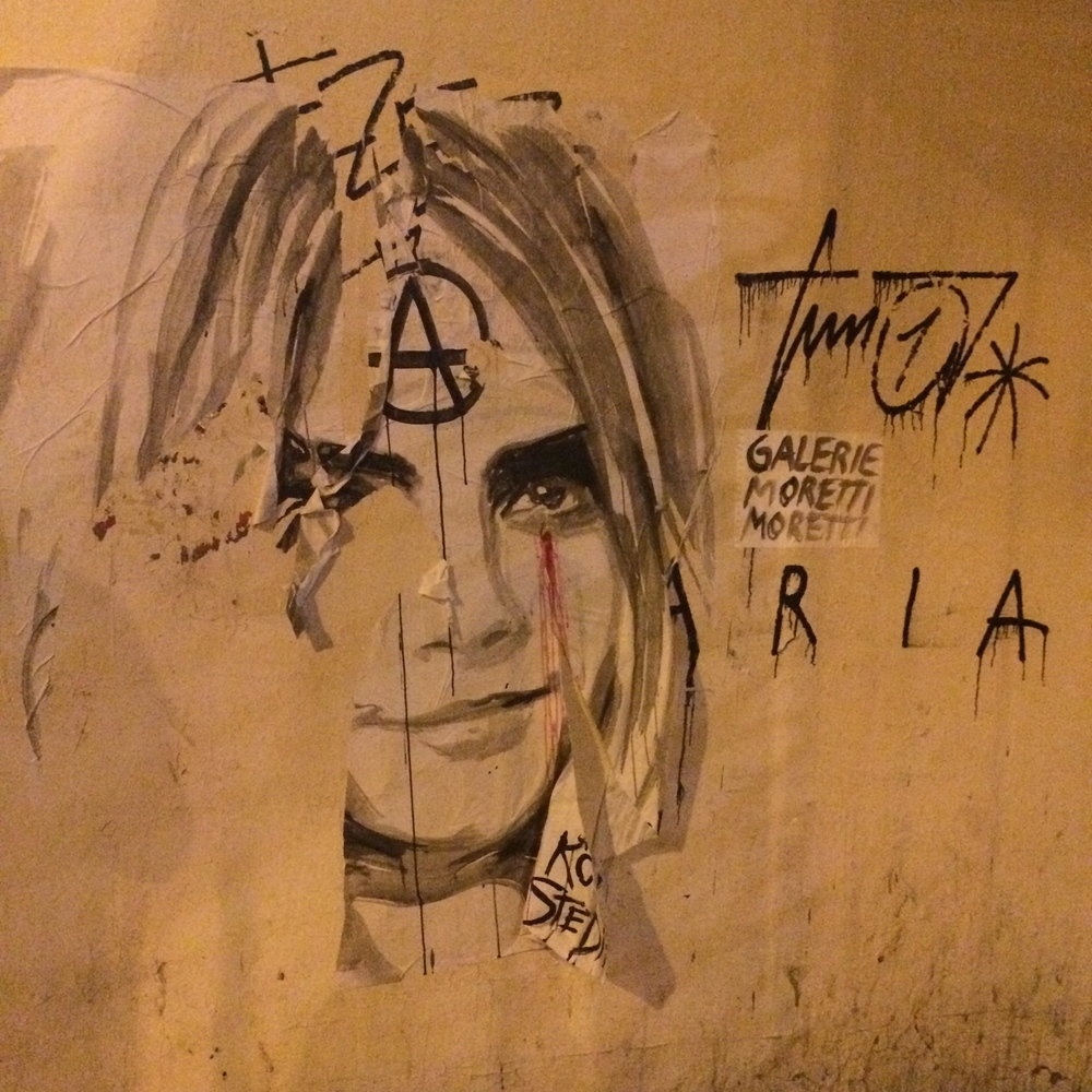 Cara Delivigne, the face of anarchy everywhere