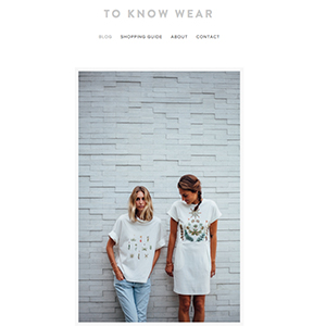 To Know Wear