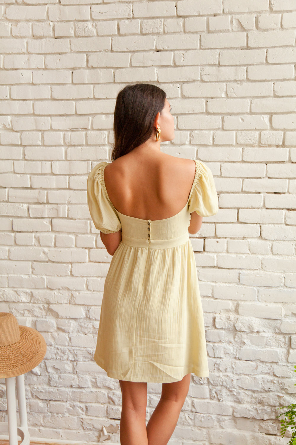 Plante Daisy Dress Back