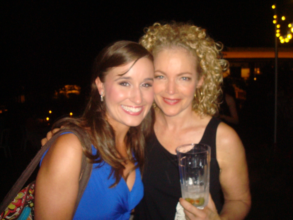 Amy Irving and Lauren