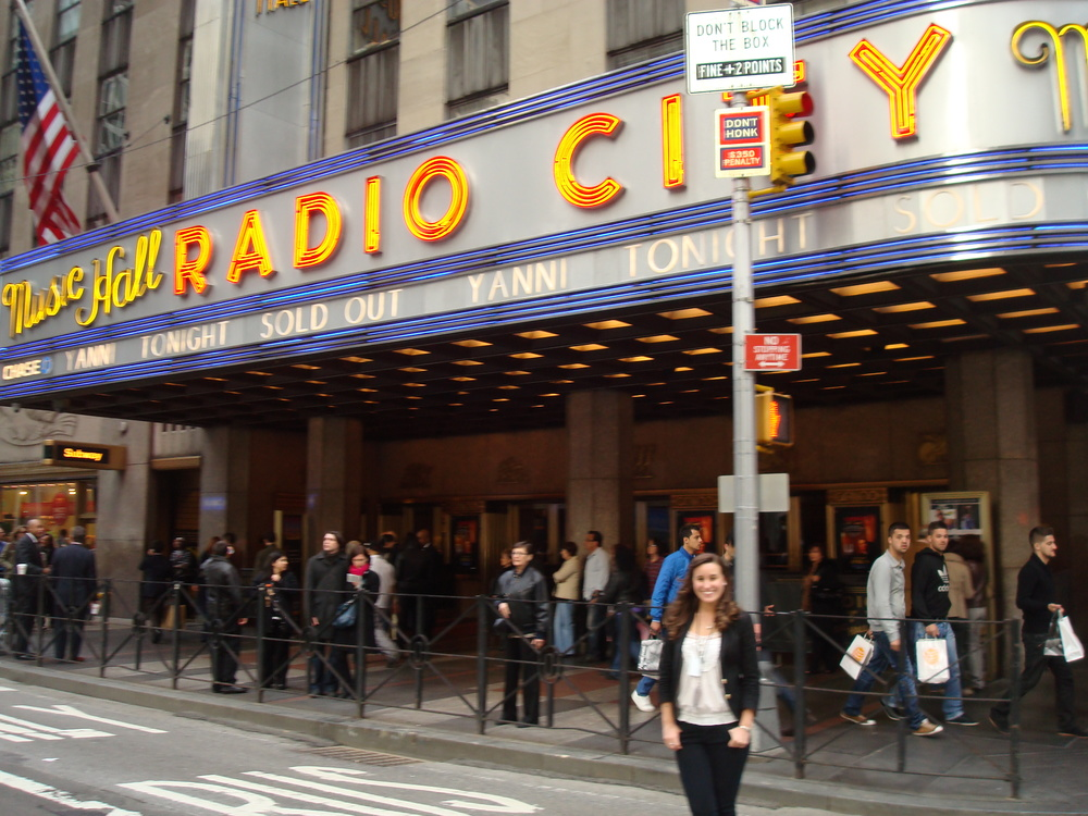 Sold out concert at Radio City Music Hall!