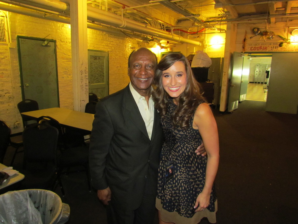 Jesse White with Lauren